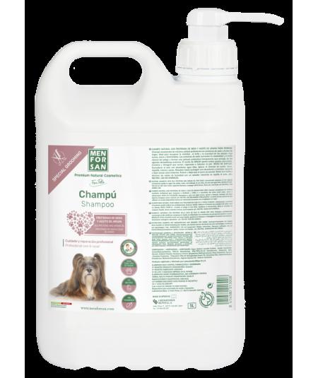 bote 5L de champu proteinas de seda perros